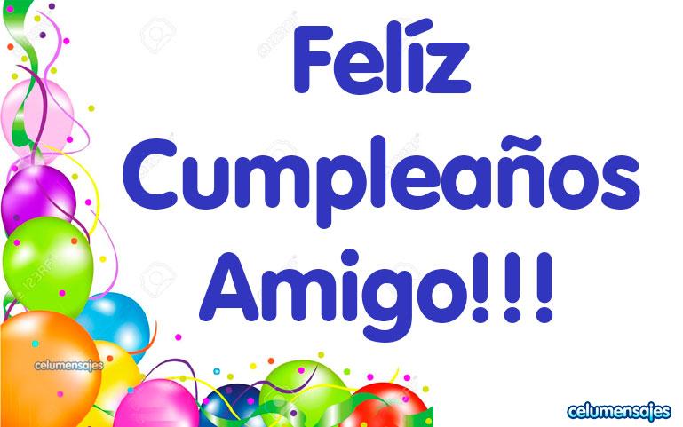 Feliz Cumpleaños Amigo!!!